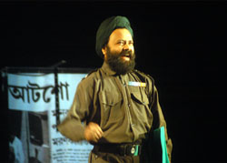 Bapi Dasgupta as Major Jaipal.