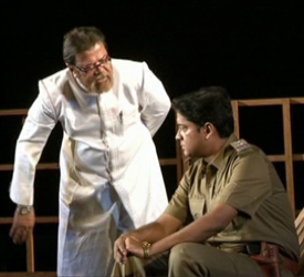 Partha Protim Nag and Debnath Chatterjee in 'Rape Particle
